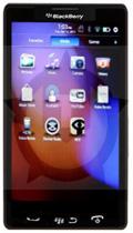 Mockup: BlackBerry met QNX