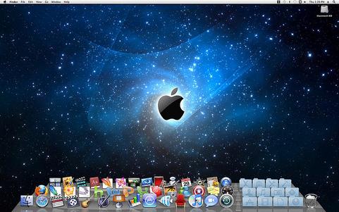 Apple Mac OS X 10.7 'Lion' desktop (481 pix)