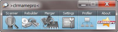 ClrMamePro 4.0 screenshot