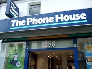 The Phone House-vestiging in Brussel