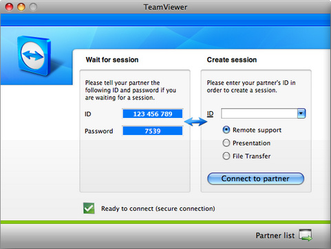 TeamViewer 6.0 screenshot (481 pix)