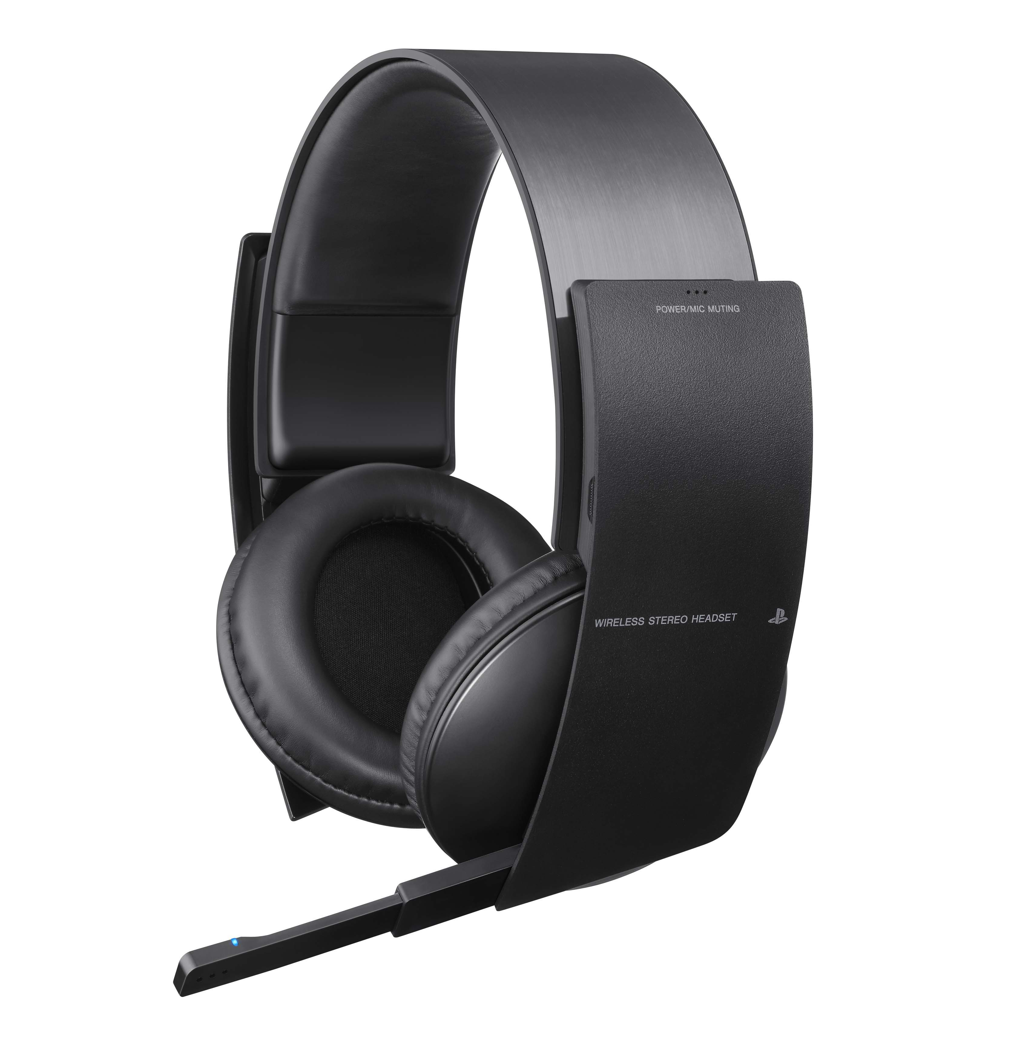 headsets ps3 sony wireless stereo headset as new bid. Black Bedroom Furniture Sets. Home Design Ideas