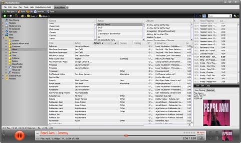 MediaMonkey 4.0 screenshot
