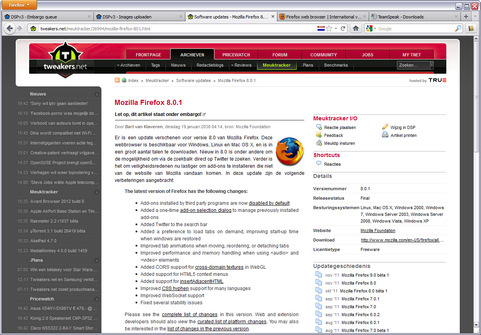 Mozilla Firefox 8.0.1 screenshot (481 pix)