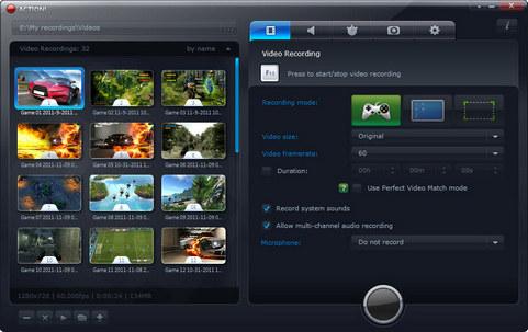 Mirillis Action! screenshot
