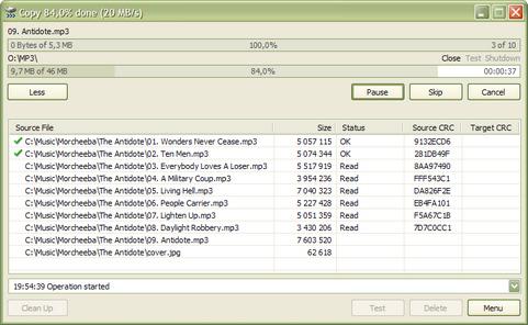 TeraCopy screenshot (481 pix)