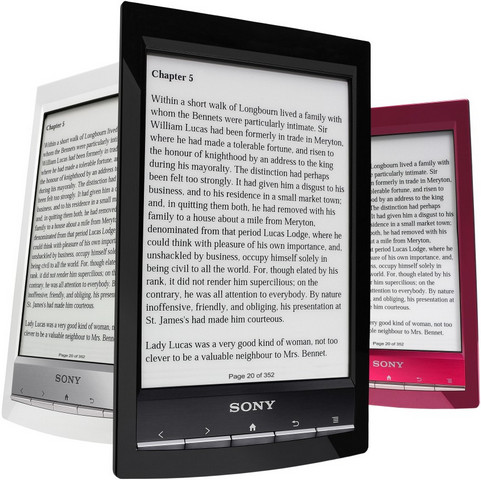 Sony Reader Touch Edition PRS-T1