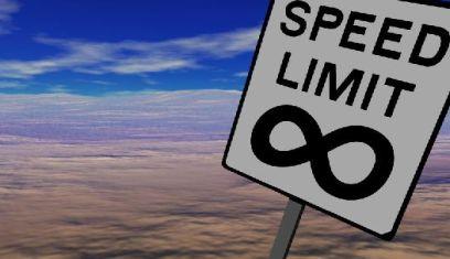 Geen snelheidslimiet