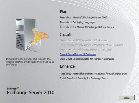 Software-update: Microsoft Exchange Server 2010 SP3 Rollup