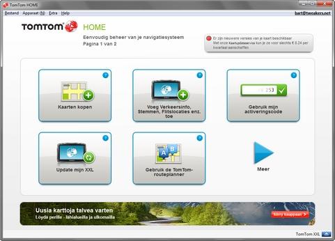 TomTom Home 2.8.3 screenshot (481 pix)