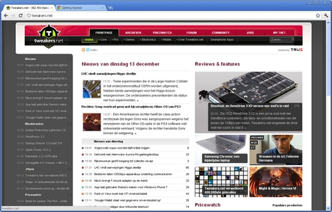 Google Chrome 16.0.912.63 screenshot (481 pix)