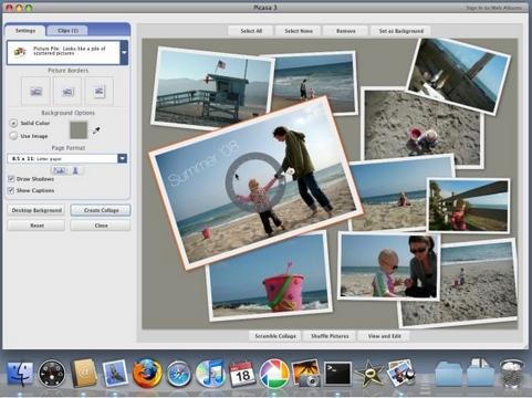 Google Picasa screenshot (481 pix)