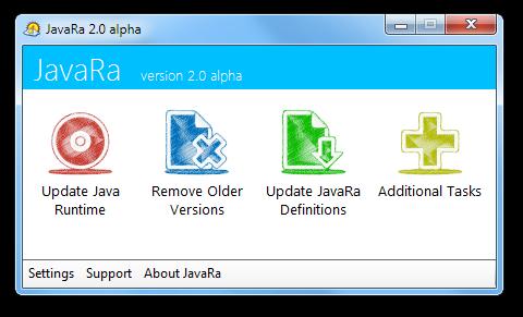 JavaRa 2.0 alpha screenshot