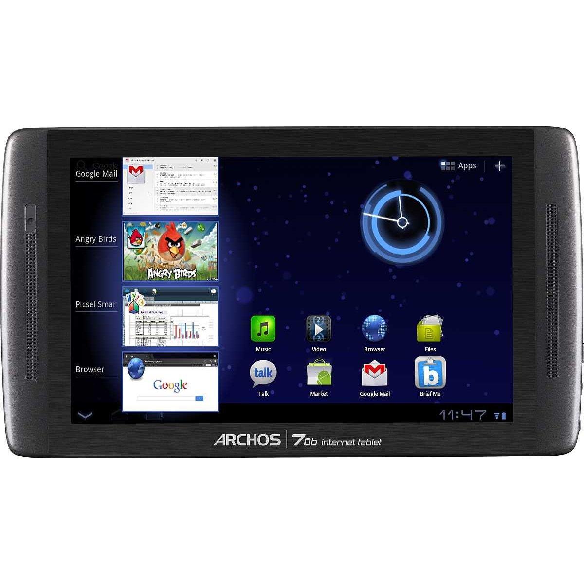 archos 70b inter  tablet zwart   prijzen   tweakers