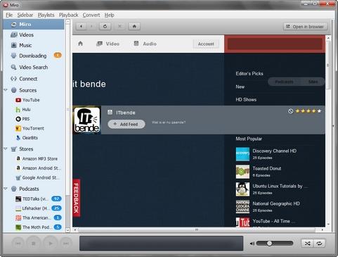 Miro 4.0.4 screenshot