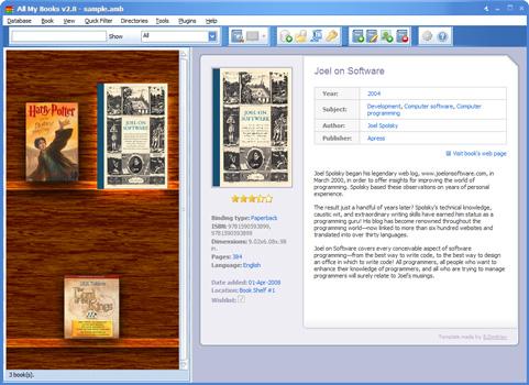 All My Books 2.8 screenshot