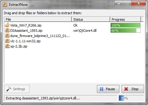 ExtractNow 4.63 screenshot