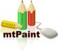 mtPaint logo (75 pix)