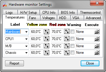 Hmonitor screenshot