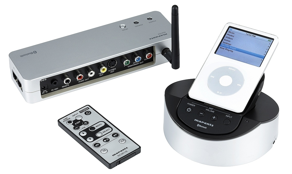 marantz is301 ipod docking station met bluetooth module. Black Bedroom Furniture Sets. Home Design Ideas