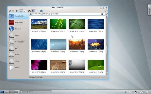 Plasma en Applications in KDE 4.8