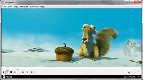 Media Player Classic - Home Cinema screenshot (481 pix)