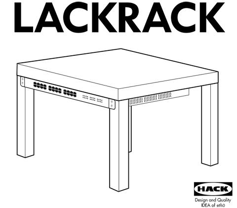 Lackrack