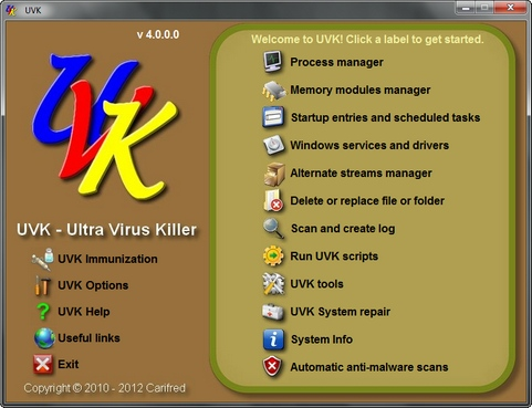 UVK screenshot (481 pix)