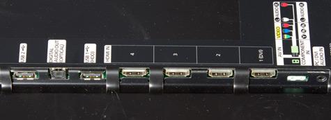 Samsung D5000 aansluitingen groot