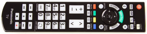 Panasonic Viera VT50 remote