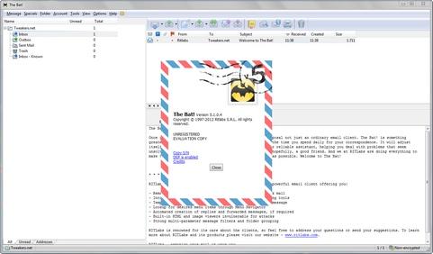 The Bat! 5.1 screenshot