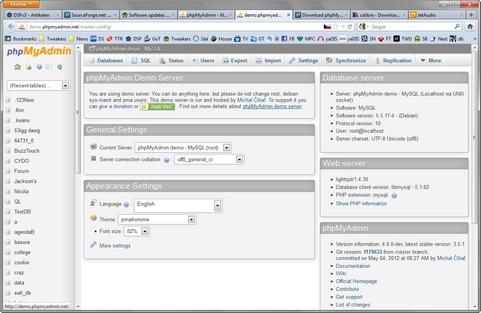phpMyAdmin screenshot (481 pix)