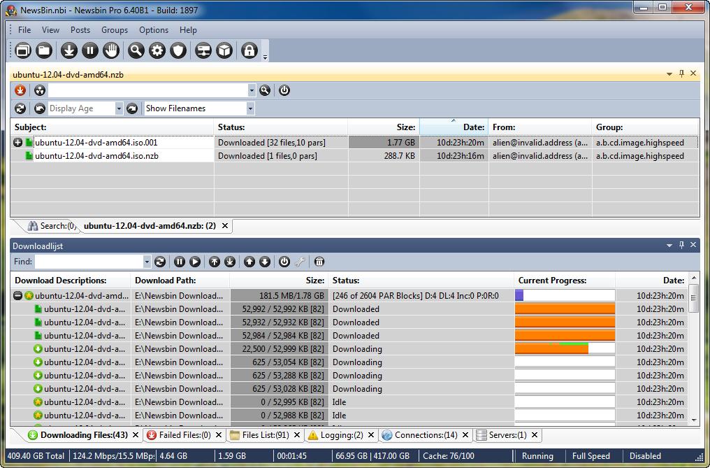 Software-update: NewsBin Pro 6.40 build 1948 b�ta 4 - Computer ...