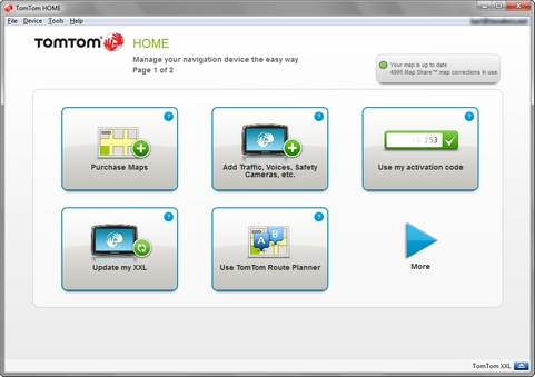 TomTom Home 2.8.4 screenshot (481 pix)