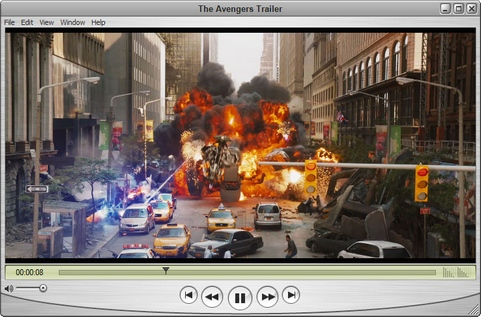 Apple QuickTime player screenshot (481 pix)