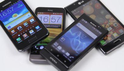 Enkele Android-telefoons