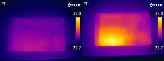 Warmtefoto Nexus 7
