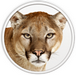 Apple Mac OS X 10.8 'Mountain Lion' logo (75 pix)