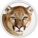 Apple Mac OS X 10.8 'Mountain Lion' logo (75 pix)