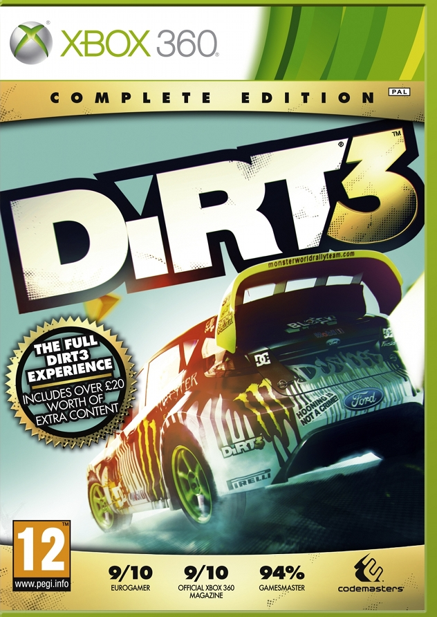Dirt 3 complete edition to be outed for ps3, xbox 360 and pc.