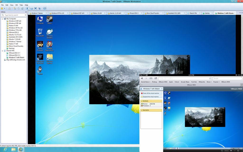 VMware Workstation Version 9 - Windows XP VM