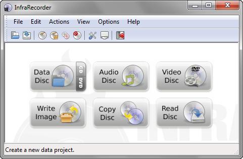 InfraRecorder 0.53.0 screenshot