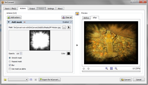 XnConvert 1.50 screenshot