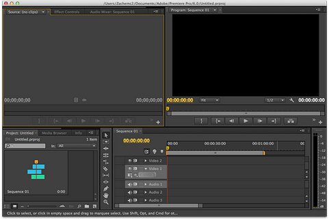 Adobe Premiere Pro CS6 screenshot (481 pix)