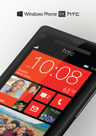 Windows Phone 8X HTC