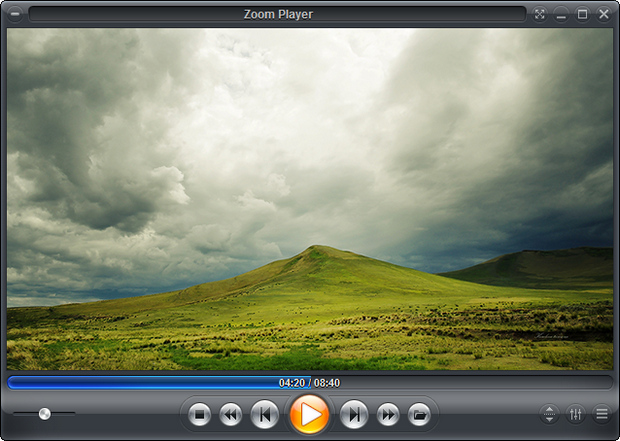 Zoom Player 8.50 screenshot (620 pix)