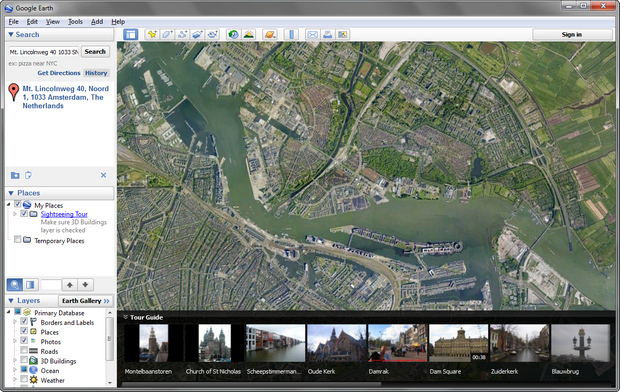 Google Earth 7.0 screenshot (620 pix)