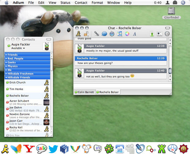 Adium screenshot (481 pix)