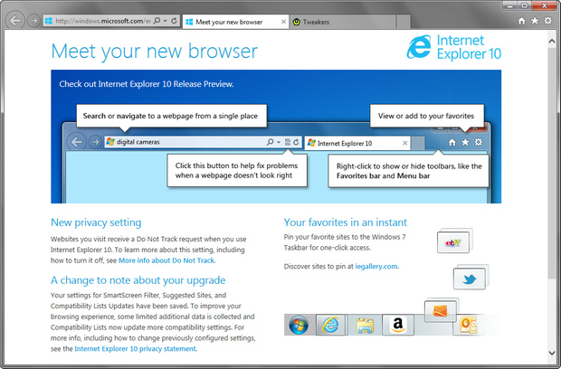 Internet Explorer 10 screenshot (620 pix)