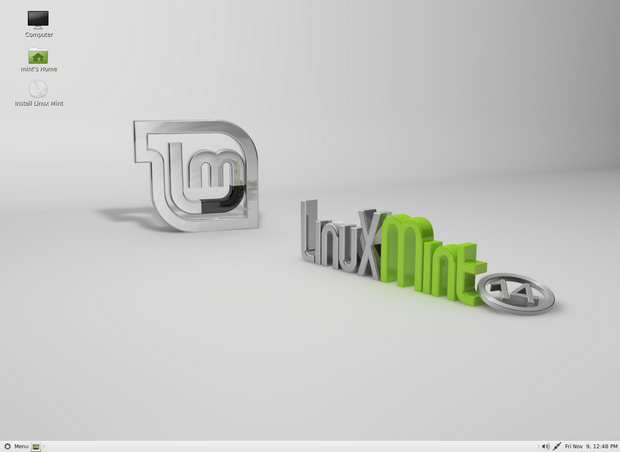 Linux Mint 14 screenshot (620 pix)
